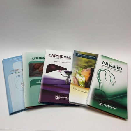Produktion medical prescription booklet